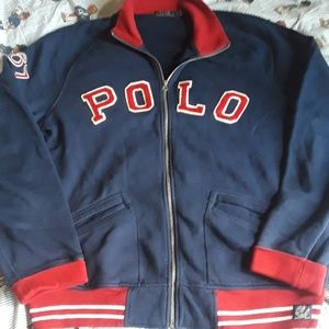 Polo Ralph Lauren Track Jacket Mens Sz XL